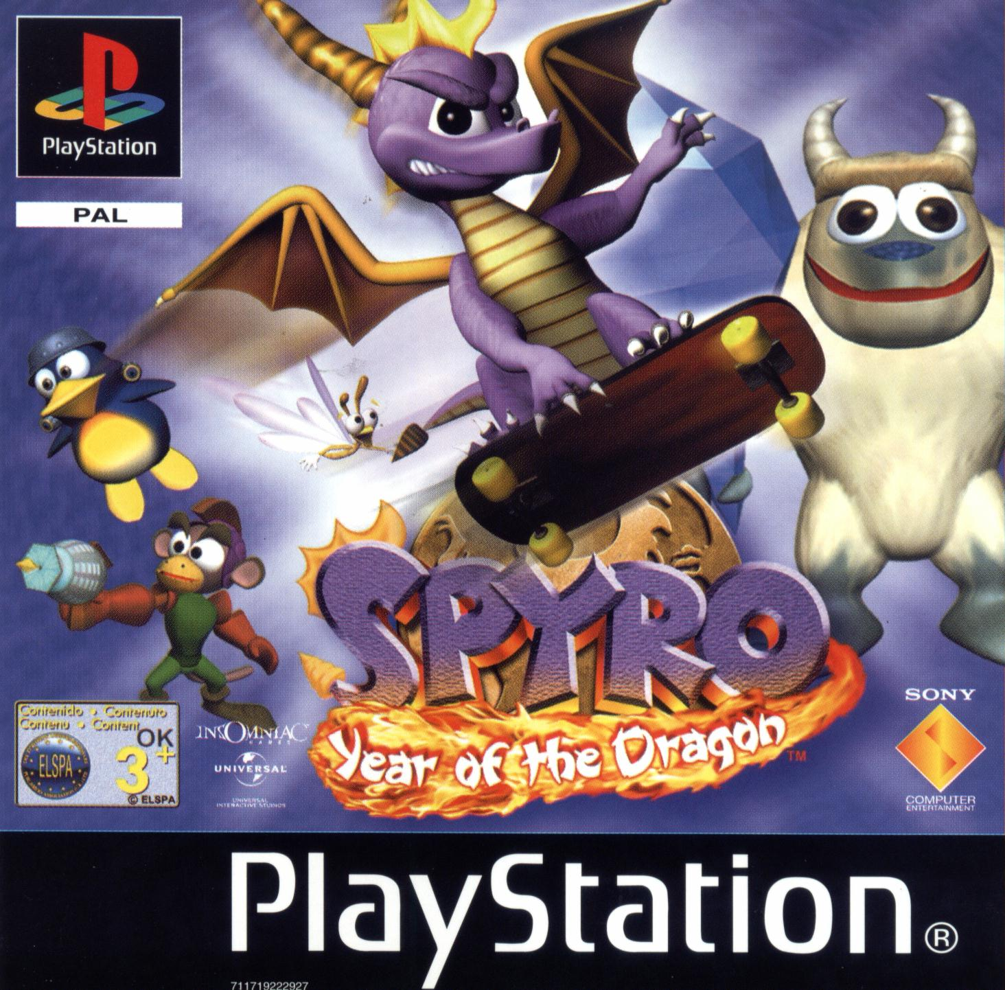 ps1 spyro year of the dragon download
